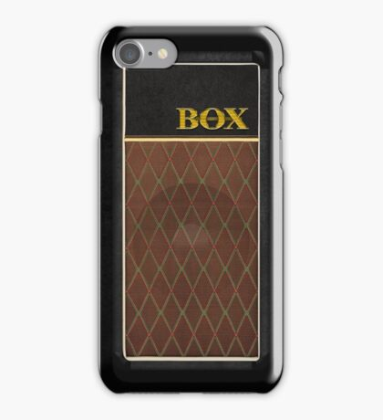 Guitar Amplifier iPhone Case (Vox style) iPhone Case/Skin