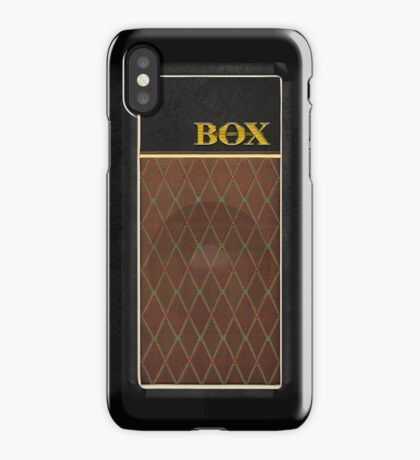 Guitar Amplifier iPhone Case (Vox style) iPhone Case