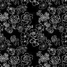 Flowers In White by Pamela Howard