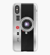 Like-a-Leica Camera (Silver) iPhone Case iPhone Case