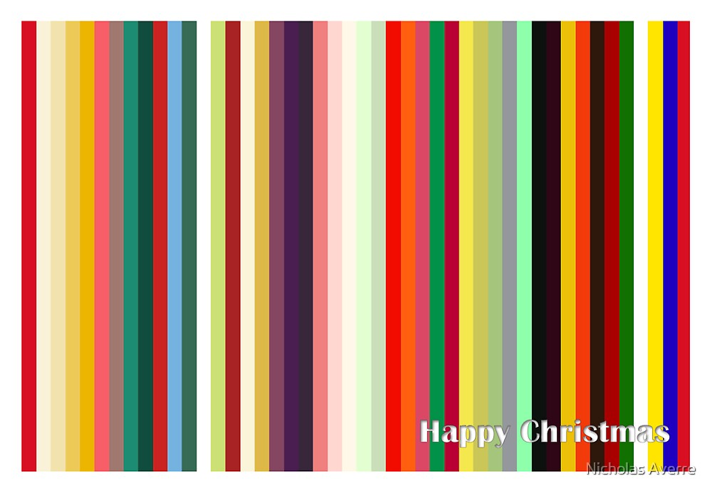 Have a Colourful Christmas by Nicholas Averre