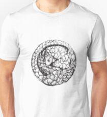Pangolin - am meisten gejagt Mammal Print Slim Fit T-Shirt