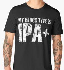 my blood type is ipa + Men's Premium T-Shirt