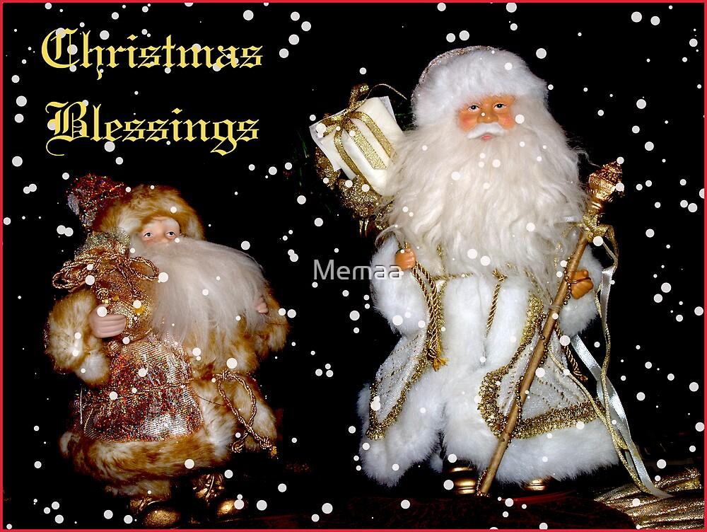 Christmas Blessings by Memaa