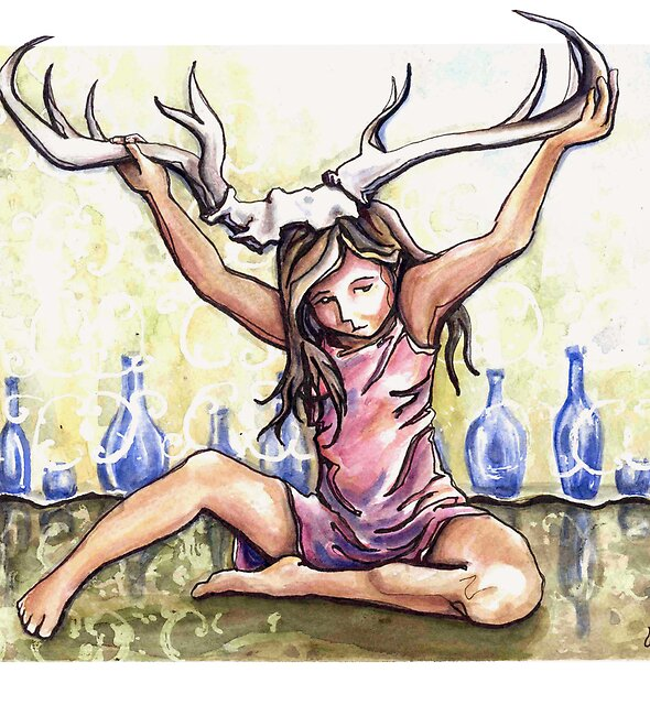 Antlers by Leslie Allyn