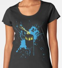 TARDIS Splash Women's Premium T-Shirt