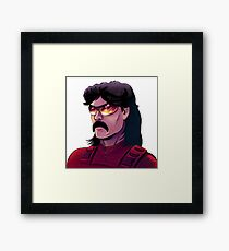 Dr DisRespect on Twitch tv Framed Print