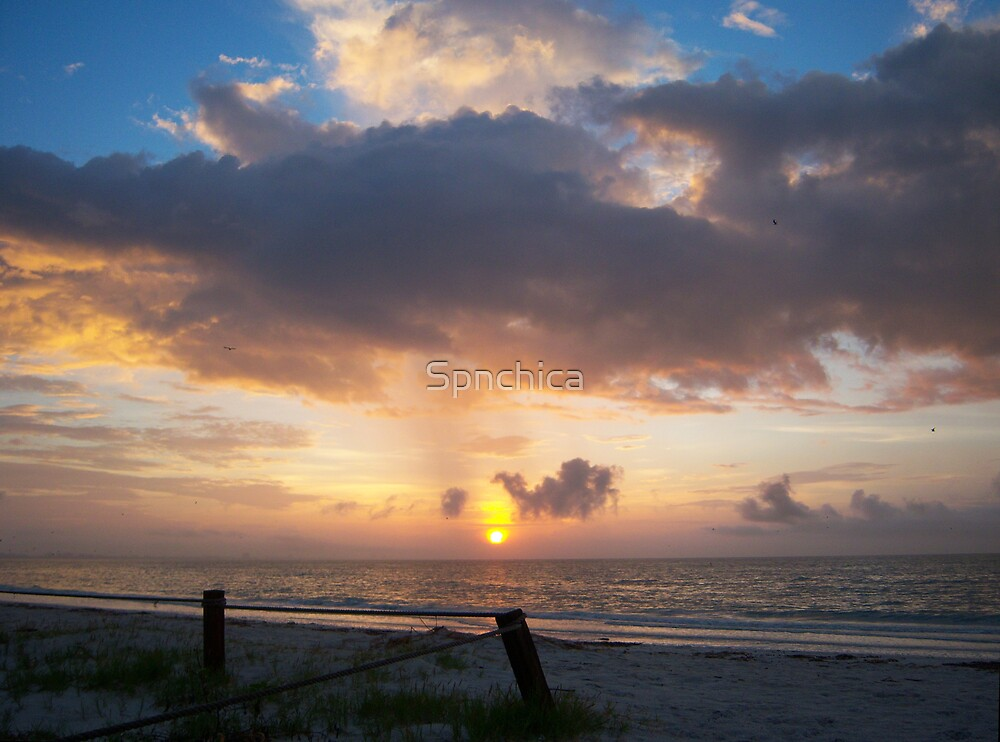 Lighthouse Beach Sunrise by Spnchica