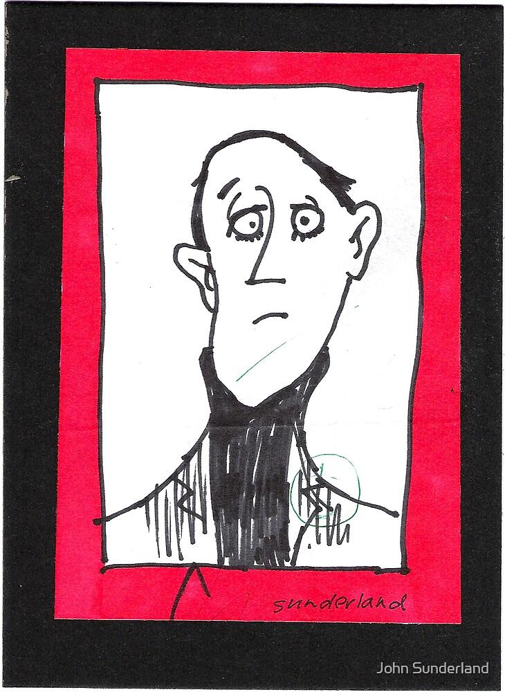 caricature by John Sunderland