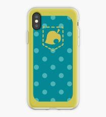 Vinilo o funda para iPhone Diseño del teléfono Animal Crossing Pocket Edition