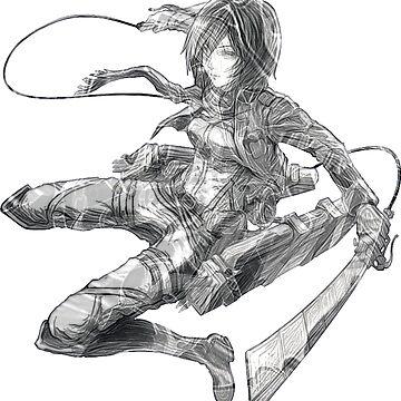 Mikasa by painterfrank