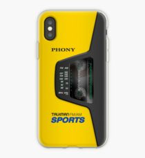 Phony Talkman iPhone Case (Sony Walkman Sports style) iPhone Case