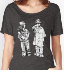 """Artwork: """"Little Sergeants"""" Artist: Elliot Hutkin Women's Relaxed Fit T-Shirt"""