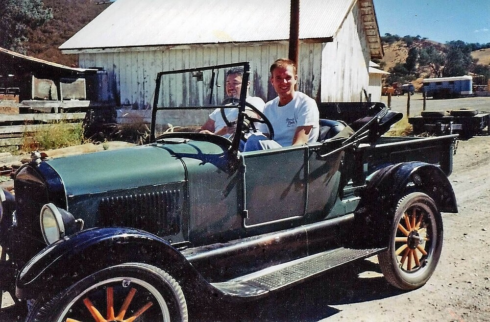 1926 Model T Ford Pickup by Edward Henzi