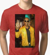 Celebrity Photography (Jamie Fox) Tri-blend T-Shirt