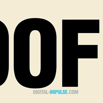 WOOF! (Text) by digitalchet