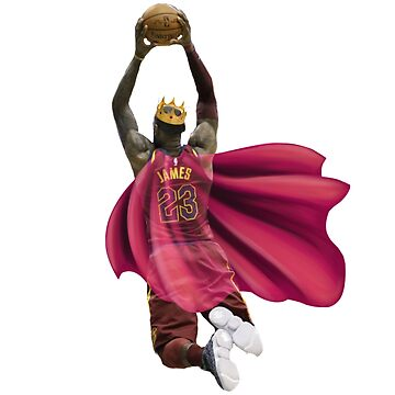 King James dunking with the crown by Mandalorian3
