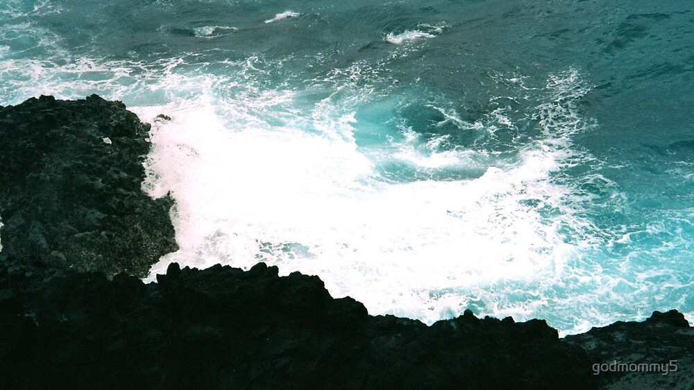 Mesmerizing Blue Swirls by godmommy5