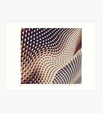 Bronze Abstract  Art Print