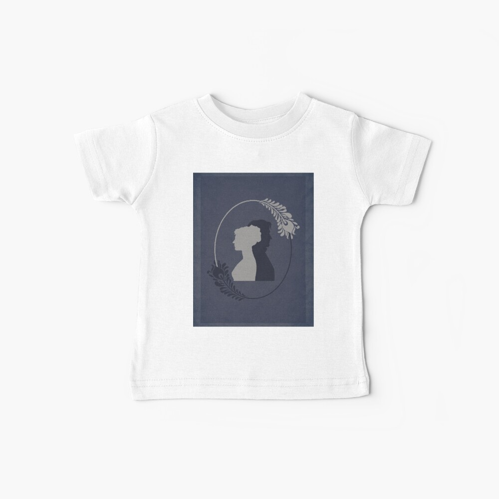 Pride and Prejudice Word Art Baby T-Shirt