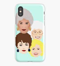 Golden Girls club iPhone Case