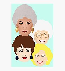 Golden Girls club Photographic Print