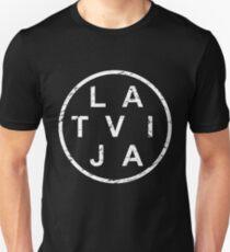 Stylish Latvija Latvia T-Shirt