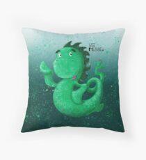 Wee Nessie Undersea Throw Pillow