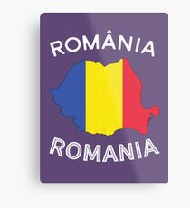 Romania Metal Print