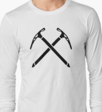Ice climbing picks axe Long Sleeve T-Shirt