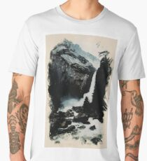 Heaven on Earth Waterfall Series , No 4 Men's Premium T-Shirt
