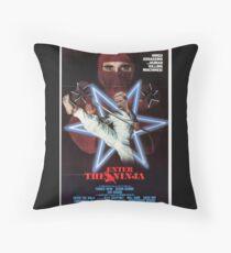 Enter the Ninja Throw Pillow
