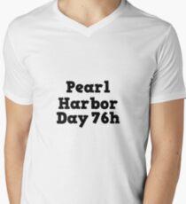 Pearl Harbor  Day 76h Men's V-Neck T-Shirt