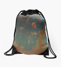 Rust Drawstring Bag