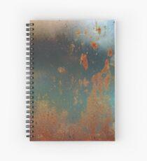 Rust Spiral Notebook