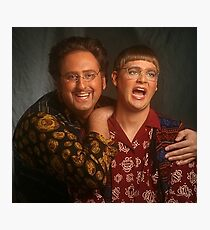 tim and eric news Photographic Print