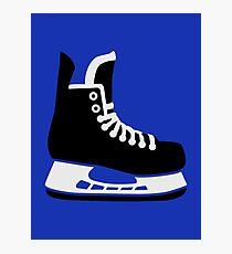 Hockey skate Photographic Print
