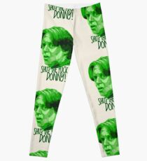 The Big Lebowski DUDE Donny Green Leggings