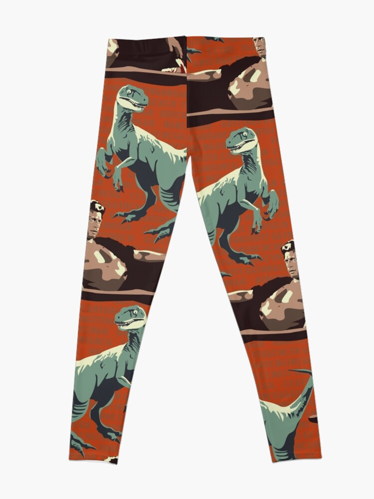 Alternate view of Jurassic Geniuses  Leggings