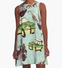 Jurassic Ride A-Line Dress
