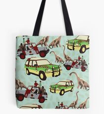Jurassic Ride Tote Bag