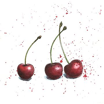 Cherries by lexihastra