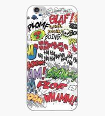 Comics Elements iPhone Case