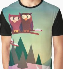 Twilight In The Woods Graphic T-Shirt