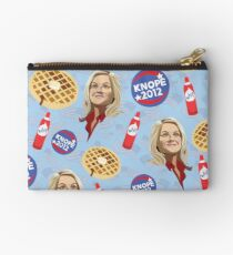 What's Important: Friends, Waffles, and Work  Studio Pouch