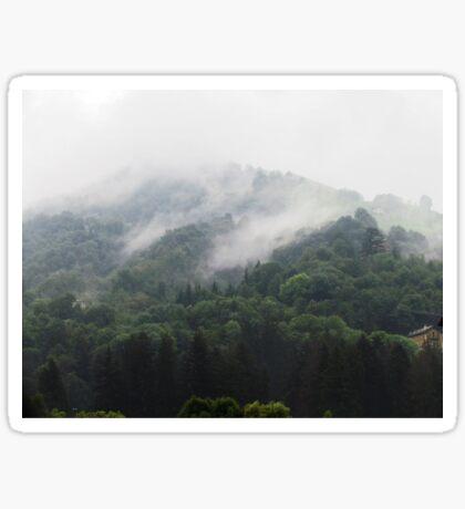 Misty Mountains Sticker