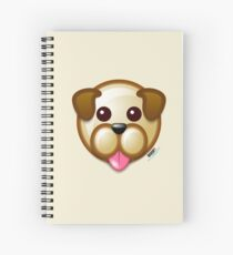 WOOF! Spiral Notebook