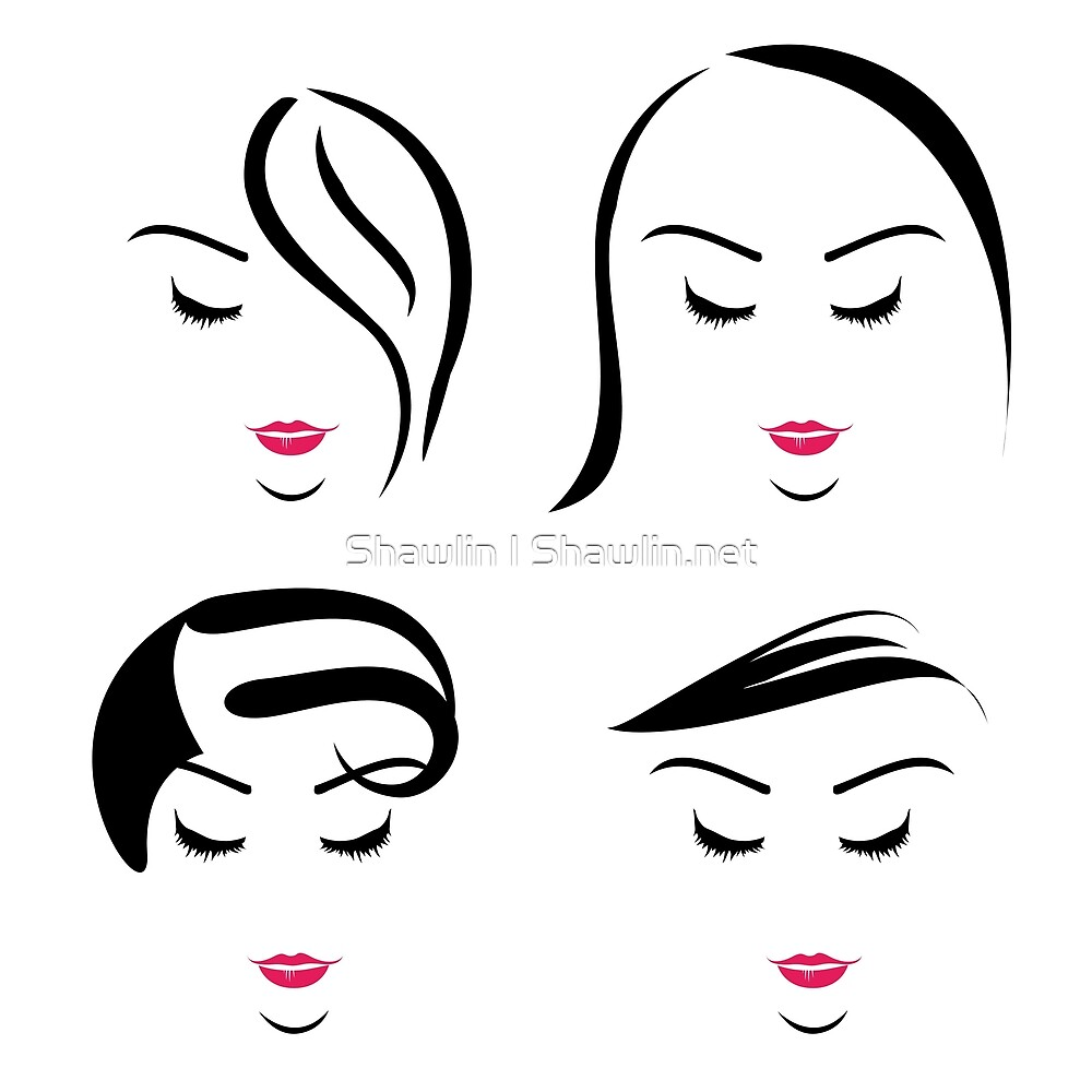 Women with different hairstyles  by Shawlin Mohd