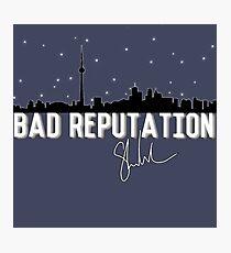 Bad Reputation Toronto  Photographic Print