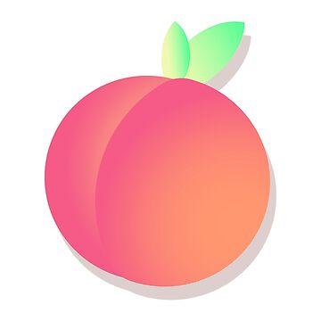 Peachy by knnthymrn